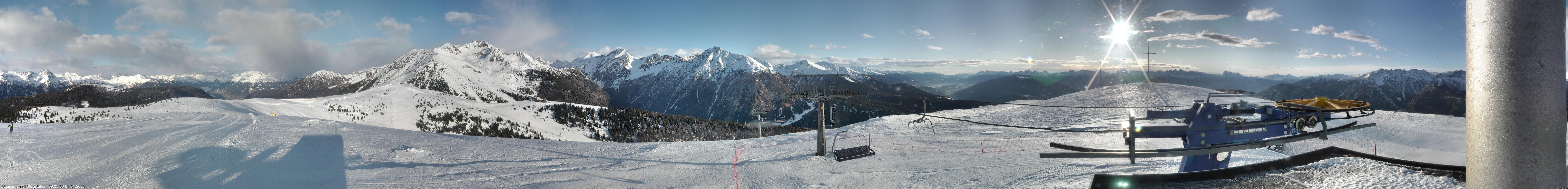 Webcam della stazione a monte del Gitschberg Jochtal